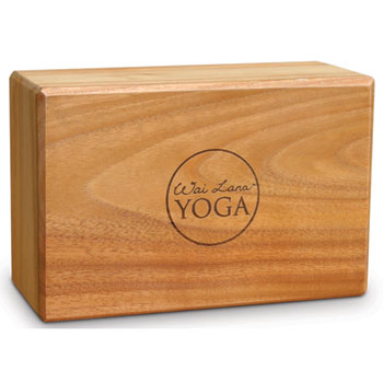 Teak Yoga Blocks