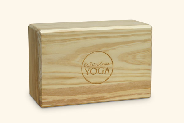 "4"" Indian Pine Yoga Block"