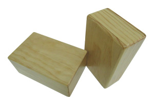 3'' Wood Yoga Block