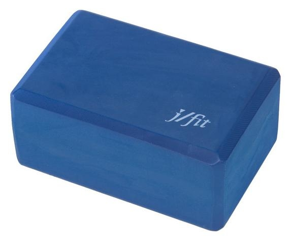 J Fit 4 in. Yoga Block in Navy Blue