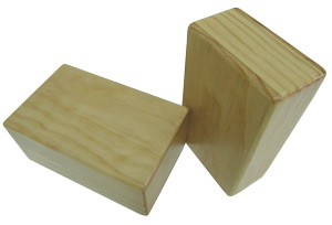 4'' Wood Yoga Block